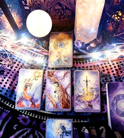 Readings with the Shadowscapes Tarot Deck